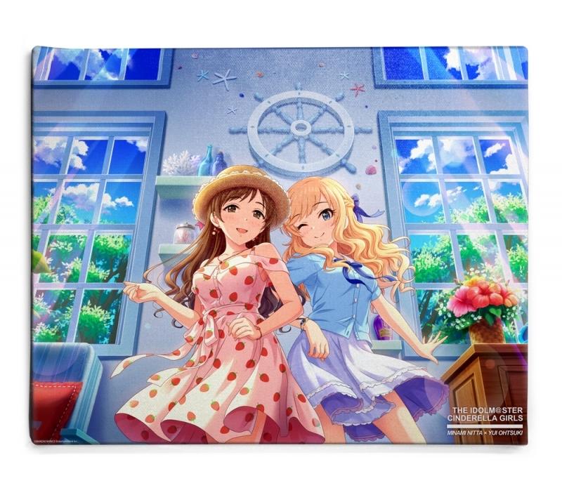 【グッズ-ボード】アイドルマスター シンデレラガールズ 銀のイルカと熱い風 新田美波 F6キャンバスアート