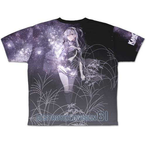 【グッズ-Tシャツ】艦隊これくしょん -艦これ- 涼月 両面フルグラフィックTシャツ/L サブ画像3