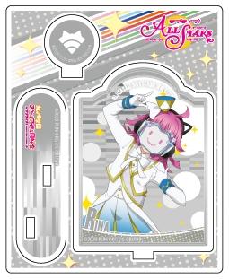 【グッズ-スタンドポップ】ラブライブ!スクールアイドルフェスティバルALL STARS アクリルスタンド 天王寺璃奈 虹色Passions! Ver