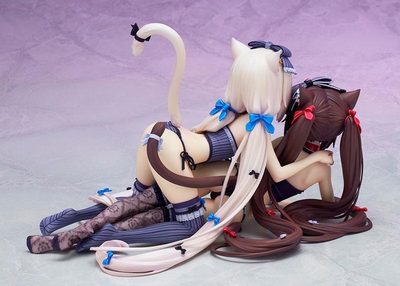 【フィギュア】ネコぱら ショコラ&バニラ 塗装済み完成品【特価】 サブ画像5