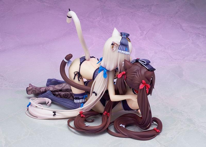 【フィギュア】ネコぱら ショコラ&バニラ 塗装済み完成品【特価】 サブ画像7