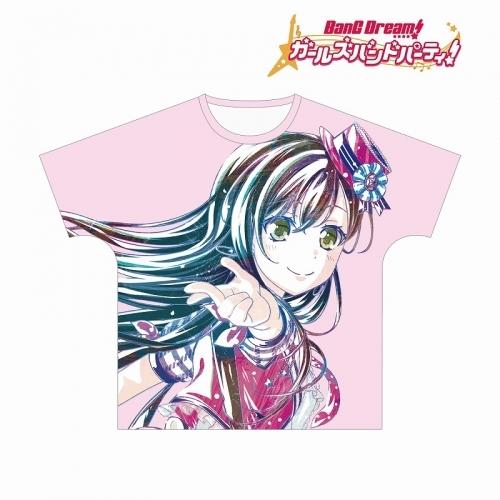 【グッズ-Tシャツ】BanG Dream! ガールズバンドパーティ! 花園たえ Ani-Art フルグラフィックTシャツ vol.2ユニセックス(サイズ/L)