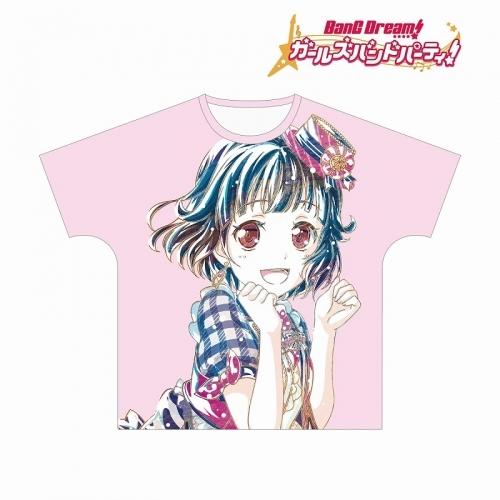【グッズ-Tシャツ】BanG Dream! ガールズバンドパーティ! 牛込りみ Ani-Art フルグラフィックTシャツ vol.2ユニセックス(サイズ/XL)