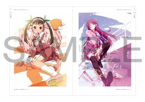 【その他(書籍)】アニメ〈物語〉シリーズ 10th Anniversary Illustration Works サブ画像2