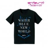 ラブライブ!サンシャイン!! 箔プリントTシャツ (WATER BLUE NEW WORLD) メンズ(サイズ/XL)