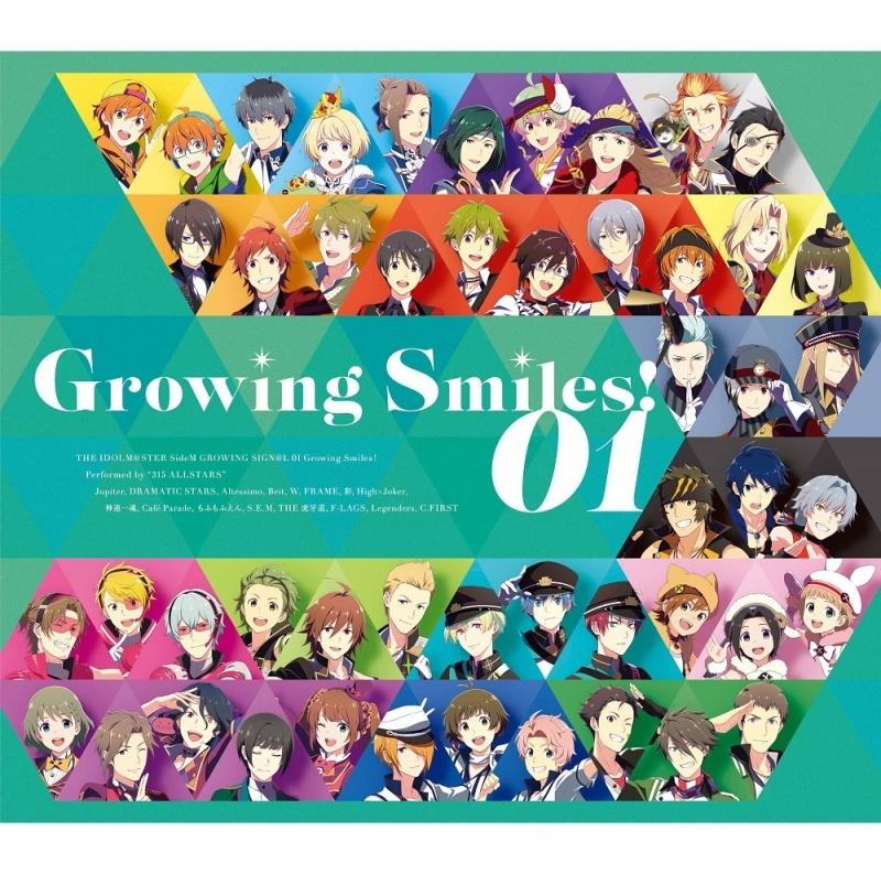 【マキシシングル】THE IDOLM@STER SideM GROWING SIGN@L 01 Growing Smiles!/315 ALLSTARS