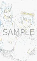 アニメ描き下ろしB2タペストリー (キャラクター:舞姫・ほたる)(全巻購入)