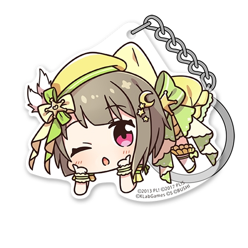 【グッズ-キーホルダー】ラブライブ!虹ヶ咲学園スクールアイドル同好会 中須かすみ アクリルつままれキーホルダー