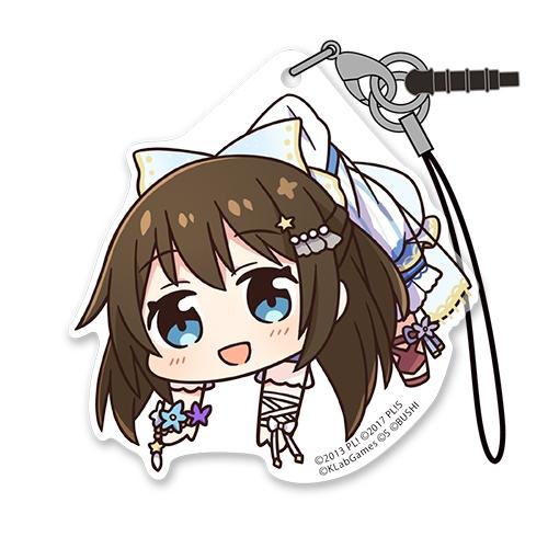 【グッズ-ストラップ】ラブライブ!虹ヶ咲学園スクールアイドル同好会 桜坂しずく アクリルつままれストラップ