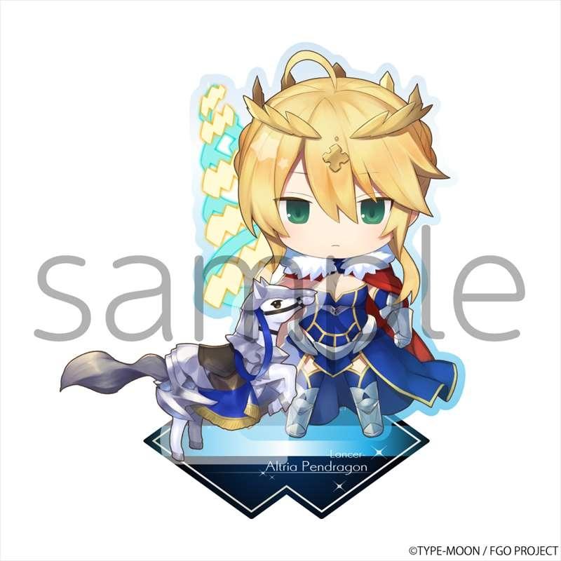 【グッズ-スタンドポップ】Fate/Grand Order きゃらとりあアクリルスタンド ランサー/アルトリア・ペンドラゴン