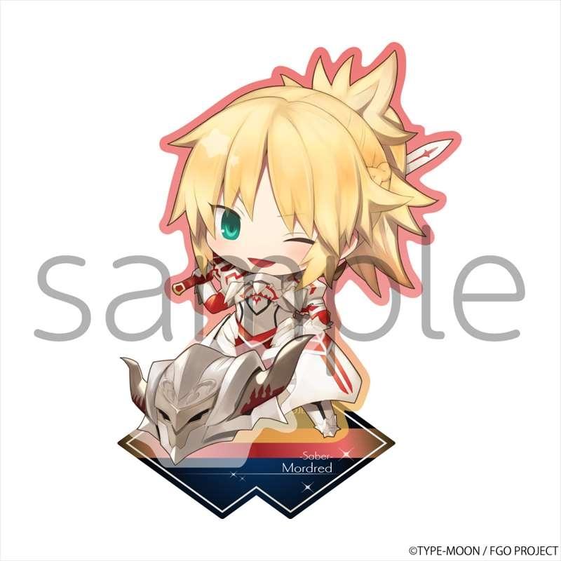 【グッズ-スタンドポップ】Fate/Grand Order きゃらとりあアクリルスタンド セイバー/モードレッド