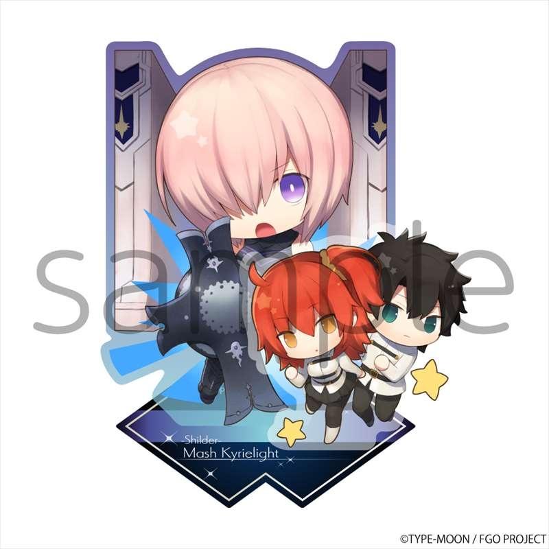 【グッズ-スタンドポップ】Fate/Grand Order きゃらとりあアクリルスタンド シールダー/マシュ・キリエライト
