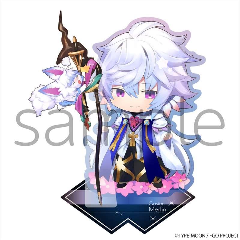 【グッズ-スタンドポップ】Fate/Grand Order きゃらとりあアクリルスタンド キャスター/マーリン
