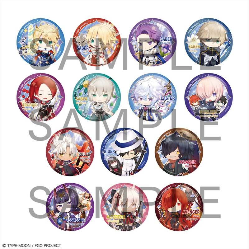【グッズ-バッチ】Fate/Grand Order きゃらとりあ缶 vol.4【特価】