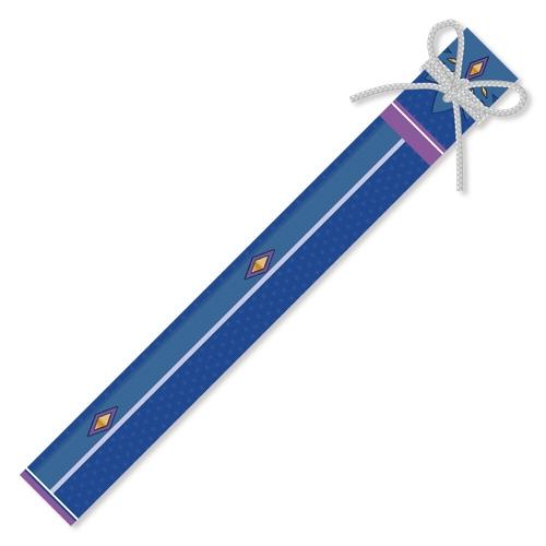 【グッズ-タペストリー】天華百剣 三日月宗近と水着デート▽刀袋風収納袋つきWスエードタペストリー サブ画像2
