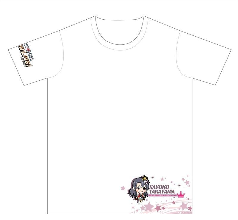 【グッズ-Tシャツ】アイドルマスター ミリオンライブ! フルカラーT シャツ ドリーミープラネット 高山 紗代子+ver. XL サブ画像2