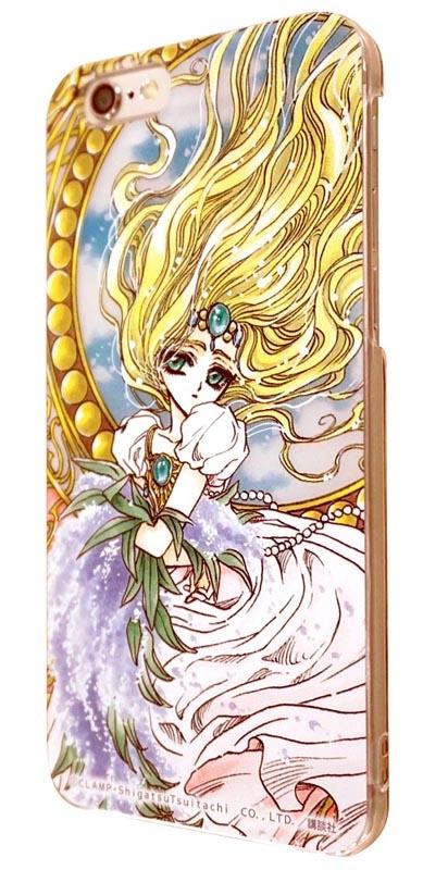 【グッズ-携帯グッズ】魔法騎士レイアース iPhone6対応 シェルジャケット エメロード姫