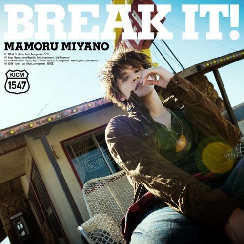 【主題歌】TV カードファイト!!ヴァンガードG 主題歌「BREAK IT!」/宮野真守