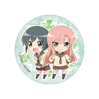 【グッズ-バッチ】三者三葉 BIG缶バッジ 芹菜&亜紗子