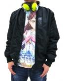 ラブライブ!サンシャイン!! 桜内梨子フルグラフィックTシャツ/WHITE-XL