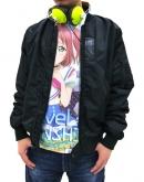 ラブライブ!サンシャイン!! 黒澤ルビィ フルグラフィックTシャツ/WHITE-XL
