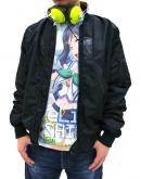 ラブライブ!サンシャイン!! 松浦果南フルグラフィックTシャツ/WHITE-XL