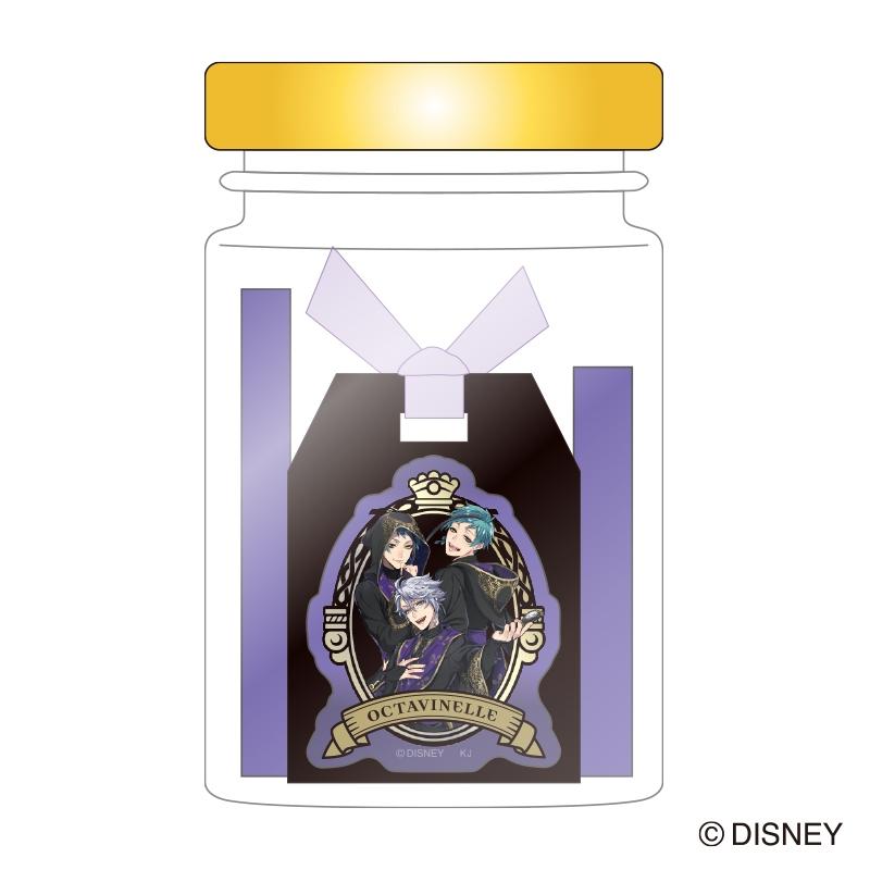 【グッズ-文房具】ディズニー ツイステッドワンダーランド 瓶入り付箋/オクタヴィネル