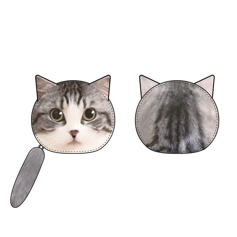 【グッズ-ポーチ】クロエ猫型ポーチ/eoheoh(M.S.S Project)