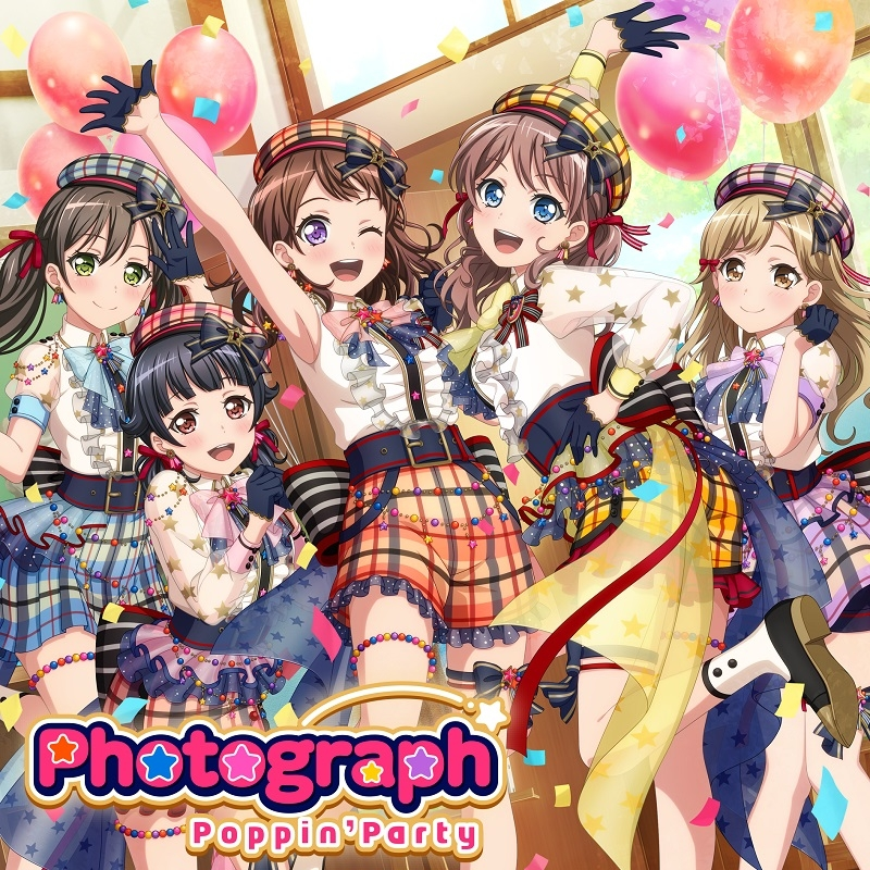 【マキシシングル】BanG Dream!「Photograph」/Poppin'Party 【Blu-ray付生産限定盤】CD+BD