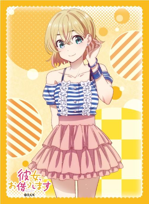 【グッズ-カードケース】彼女、お借りします ブロッコリーキャラクタースリーブ 「七海 麻美」