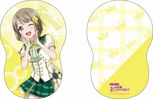 【グッズ-クッション】ラブライブ!スクールアイドルフェスティバルALL STARS ダイカットクッション 中須かすみ