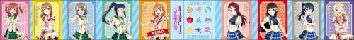 【グッズ-メモ帳】ラブライブ!スクールアイドルフェスティバルALL STARS 10連パタパタメモ B Aqours サブ画像2
