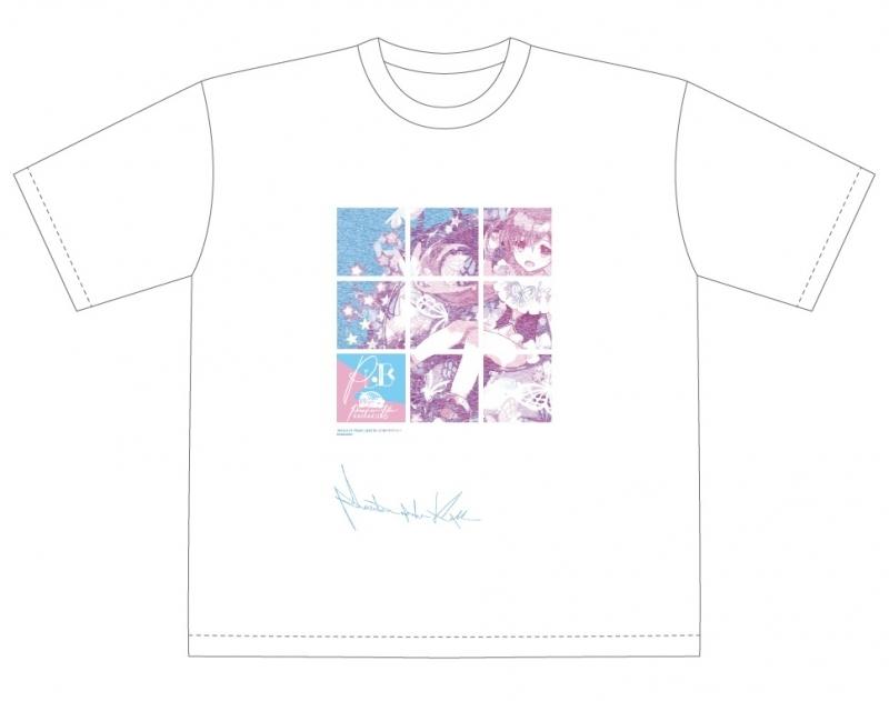 【グッズ-Tシャツ】ファンキル Produced by Kimura AD 「Tyrhung KAMAKURA BLUE」 Phantom of Love 2020 T-SHIRT:Big Silhouette【再販】