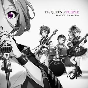 【キャラクターソング】ゲーム Tokyo 7th シスターズ The QUEEN of PURPLE 「TRIGGER / Fire and Rose」通常盤