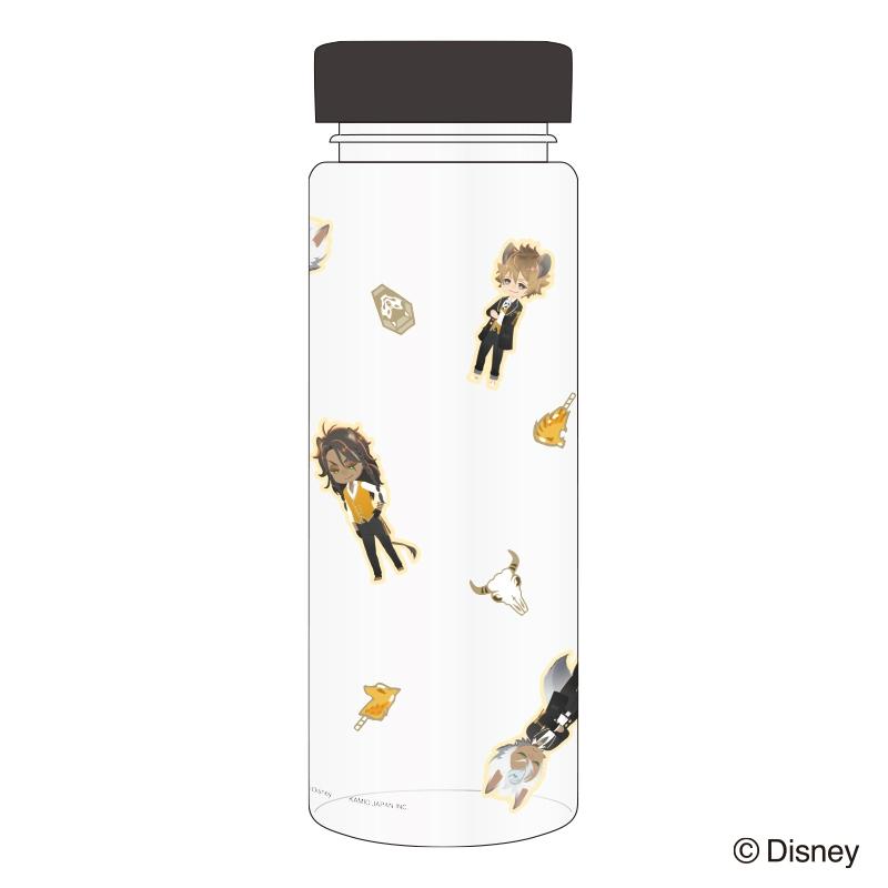 【グッズ-タンブラー・グラス】ディズニーツイステッドワンダーランド クリアボトル サバナクロー サブ画像2