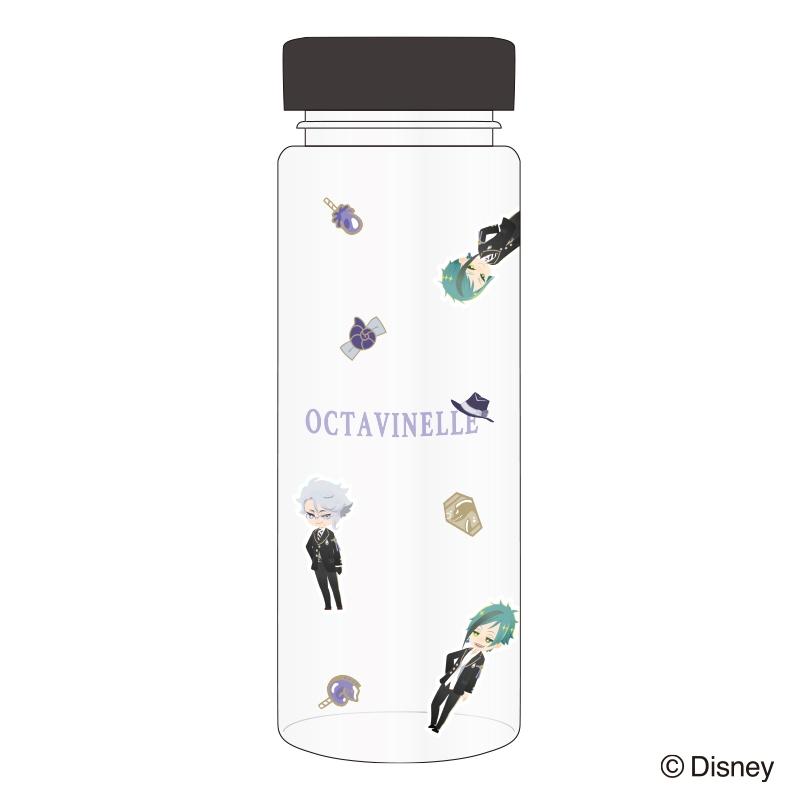 【グッズ-タンブラー・グラス】ディズニーツイステッドワンダーランド クリアボトル オクタヴィネル