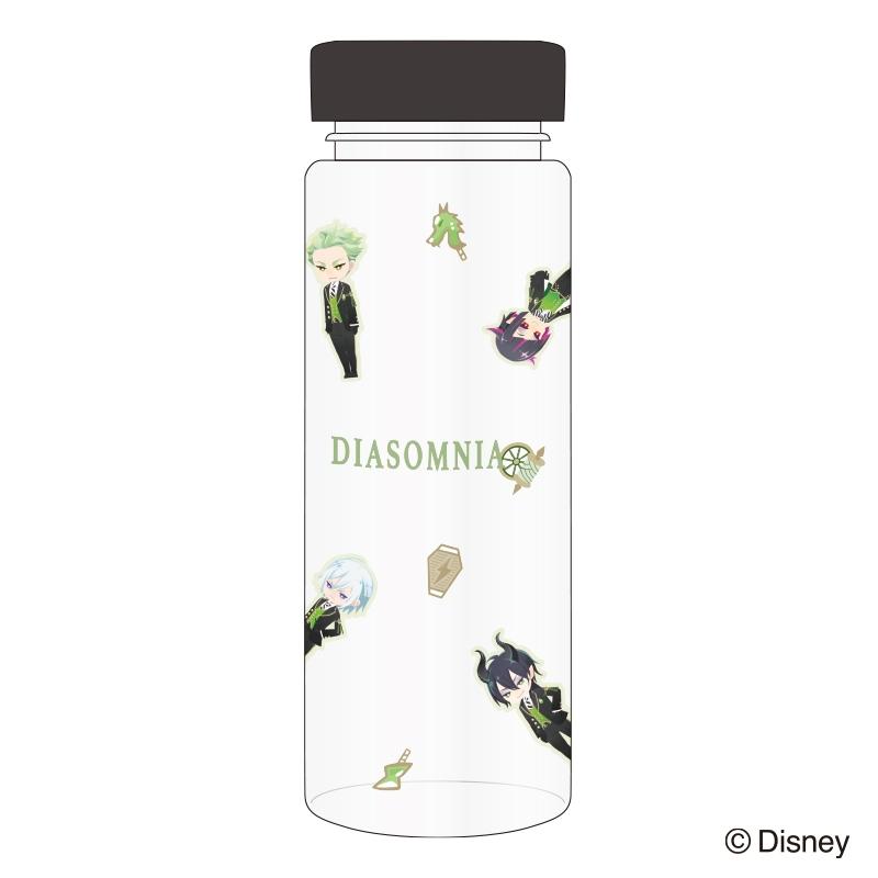 【グッズ-タンブラー・グラス】ディズニーツイステッドワンダーランド クリアボトル ディアソムニア
