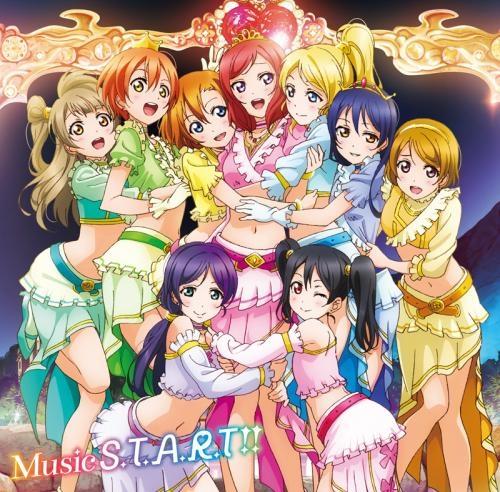 【キャラクターソング】ラブライブ! μ's 6thシングル Music S.T.A.R.T!! DVD付 通常盤