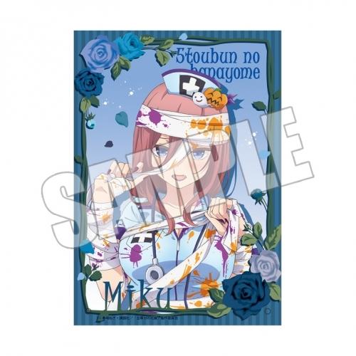 【グッズ-スタンドポップ】五等分の花嫁  ハロウィン 描き下ろしアクリルフォトプレート<三玖>
