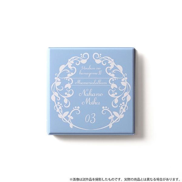 【グッズ-セット商品】五等分の花嫁∬ メモリアルアルバム 三玖 サブ画像3