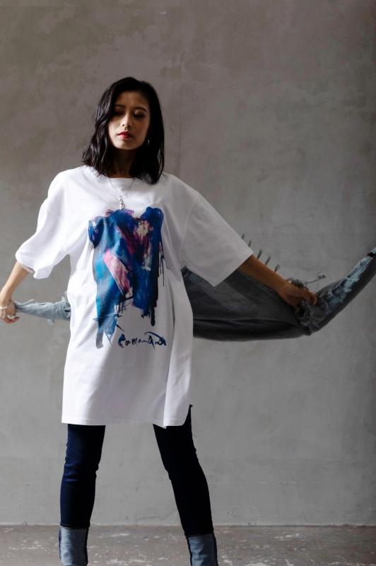 """【グッズ-Tシャツ】ファンキル """"threshold"""" LIMITED T-shirt 「CMD」by MASATO KIMURA サブ画像2"""