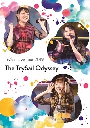 "【Blu-ray】「TrySail Live Tour 2019""The TrySail Odyssey""」/TrySail 【初回生産限定盤】BD+CD"