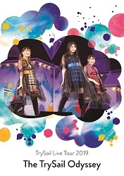 """【Blu-ray】「TrySail Live Tour 2019""""The TrySail Odyssey""""」/TrySail 【初回仕様限定盤】"""