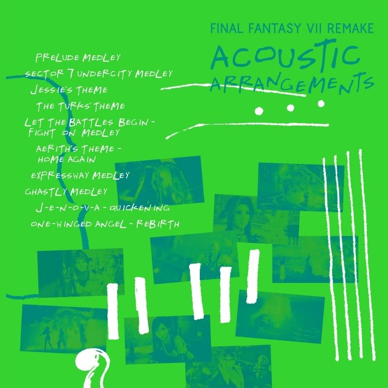【アルバム】FINAL FANTASY VII REMAKE ACOUSTIC ARRANGEMENTS