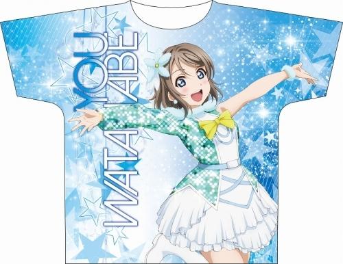 【グッズ-Tシャツ】ラブライブ!サンシャイン!! フルグラフィックTシャツ 渡辺 曜 Awaken the power ver.2