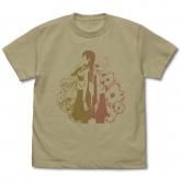 やがて君になる 侑&燈子 Tシャツ/SAND KHAKI-XL