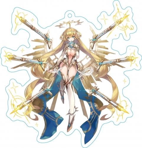 【ファントム オブ キル】 ストラップ付キル姫アクリルキーホルダー ティファレト・聖鎖・ミカエル