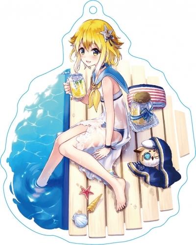 【ファントム オブ キル】 ストラップ付キル姫アクリルキーホルダー ミネルヴァ(海上編ver.)