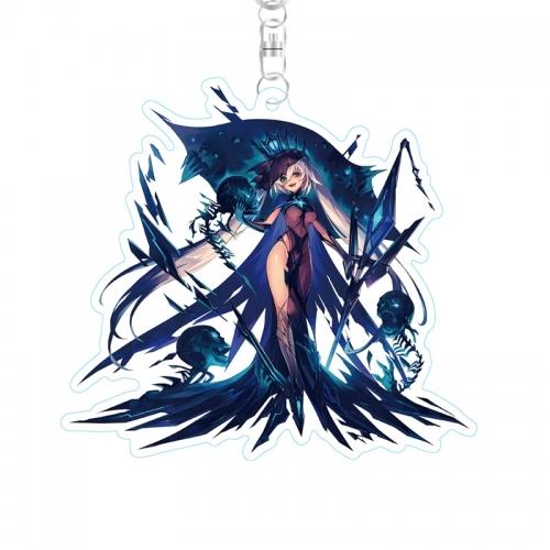 【ファントム オブ キル】 ストラップ付キル姫アクリルキーホルダー ダモクレス・神令・ヘル サブ画像2