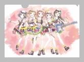 バンドリ!ガールズバンドパーティ! Ani-Art クリアファイル Poppin'Party 【ゲーマーズ限定】